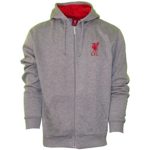 Liverpool fleece zip hoody 2013/14