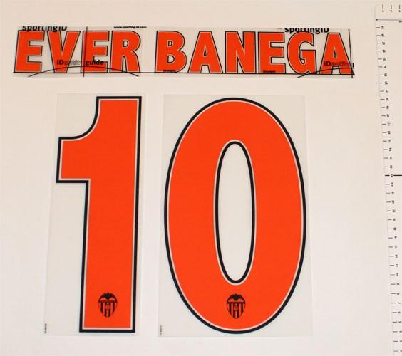 Valencia home print 2013/14 - Ever Banega 10