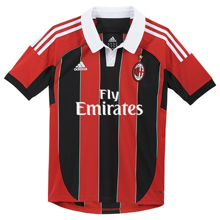 Adidas Ac Milan Home Jersey  2012/13