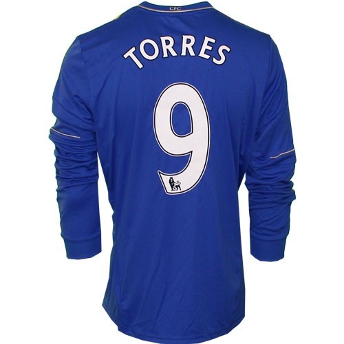 Chelsea home jersey Long sleeve 2012/13 - Torres 9