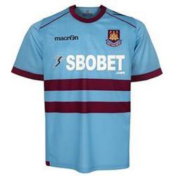 West Ham United away jersey 11-12