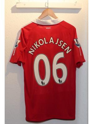 Manchester United home jersey 2010/11 - Nikolajsen 06