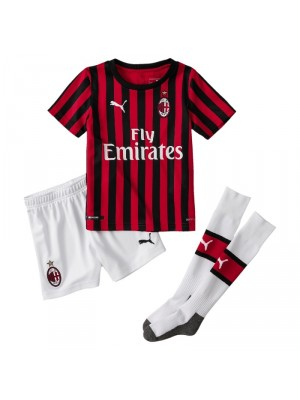 AC Milan home kit - little boys