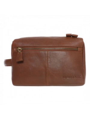 Liverpool Brown Signature Washbag