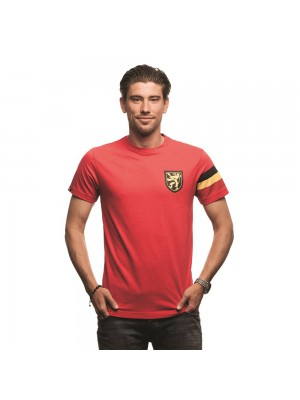 Copa Belgium Captain T-shirt // Red