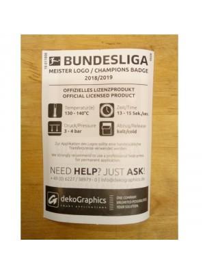 Bundesliga Meister 2018/19 sleeve badge