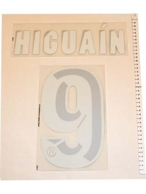 Napoli home print 2013/14 - Higuain 9