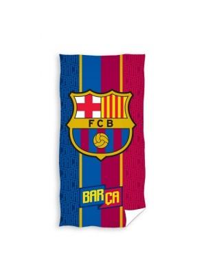 FC Barcelona towel , thin stripes