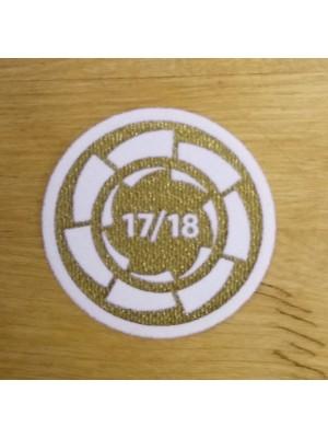 La Liga Champs 17/18 badge - one-size
