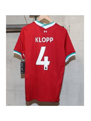 Liverpool home jersey - Klopp 4