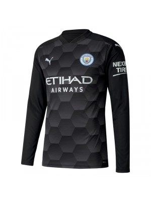 Man City goalie jersey Long Sleeve - black