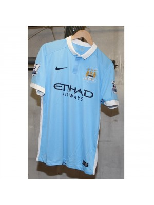 Man City home jersey 15/16 - EPL badges