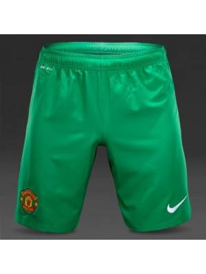 Manchester United goalie away shorts 14/15