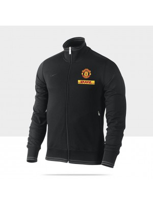 Manchester United track top 2012/13 - black - youth