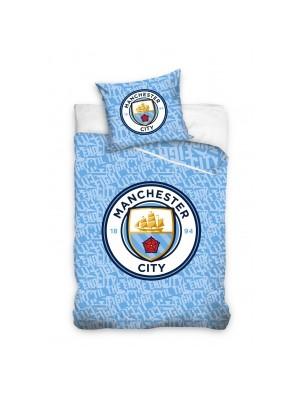 Man City duvet set - sky blue