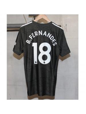 Man Utd away kit Bruno Fernandes 18