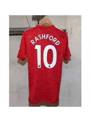Man United home kit - Rashford 10