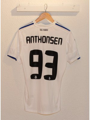 Real Madrid home jersey Anthonsen 93