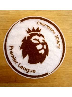 Premier League sleeve badge Champs 2016/17