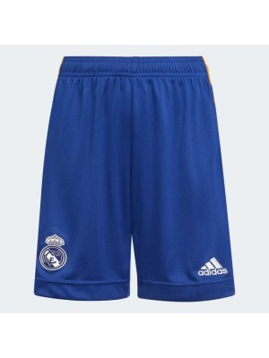 Real Madrid away shorts 2021/22 - youth - by Adidas