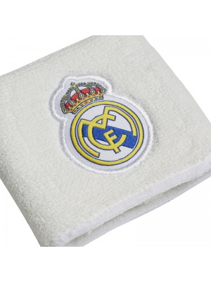 Real Madrid wristband - white