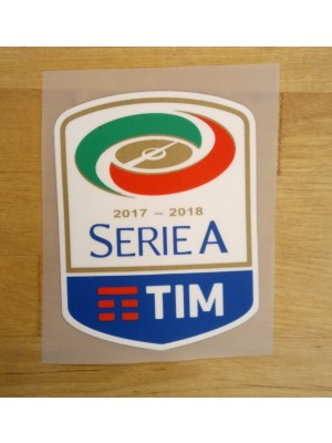 Serie A badge for the season 2017/18