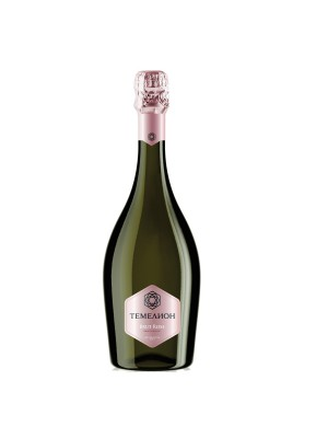Temelion Brut Rose Russian champagne