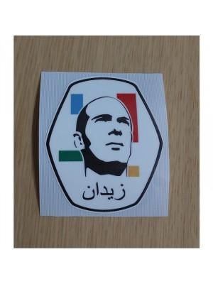 Zidane badge - adult size - multicolor