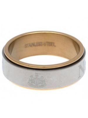 Newcastle United FC Bi Colour Spinner Ring X-Large