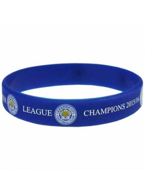 Leicester City FC Silicone Wristband Champions