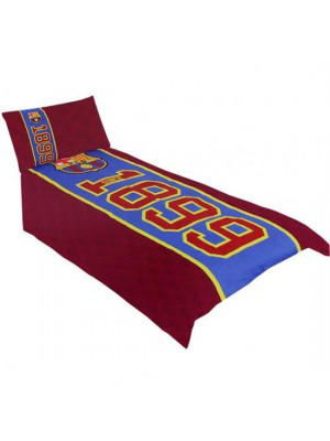 FC Barcelona Single Duvet Set ES