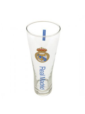 Real Madrid FC Tall Beer Glass