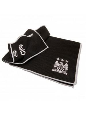 Manchester City FC Aqualock Caddy Towel