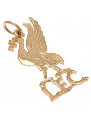 Liverpool FC 9ct Gold Pendant Liverbird