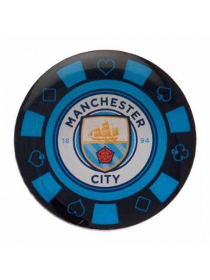 Manchester City FC Poker Chip Badge