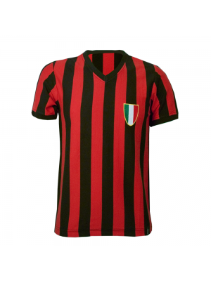 Copa AC Milan 1960's Short Sleeve Retro Shirt