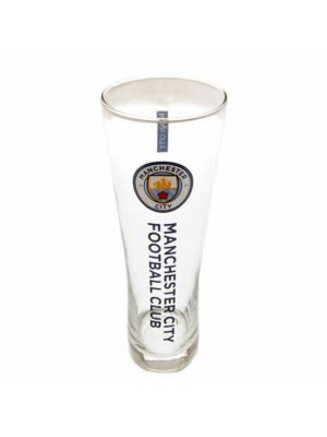 Manchester City FC Tall Beer Glass