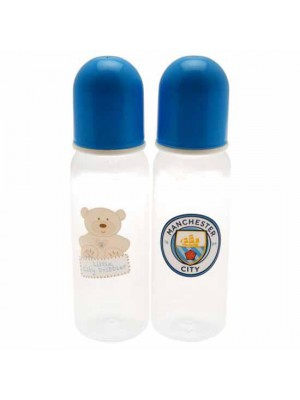 Manchester City FC 2pk Feeding Bottles