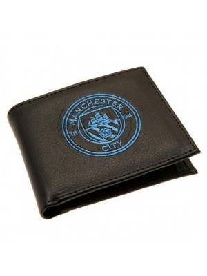Manchester City FC Embroidered Wallet