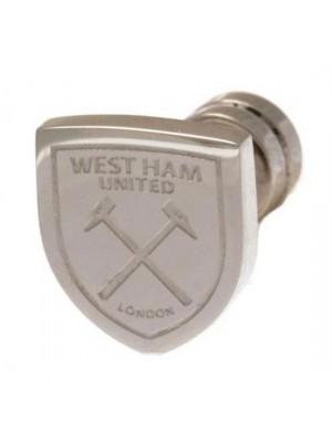 West Ham United FC Cut Out Stud Earring