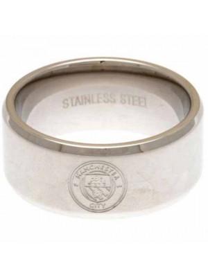 Manchester City FC Band Ring Medium