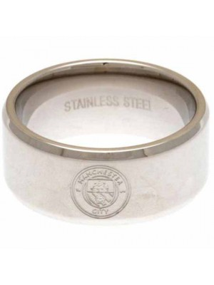 Manchester City FC Band Ring Large