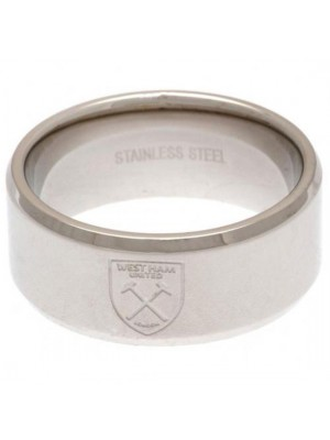 West Ham United FC Band Ring Large