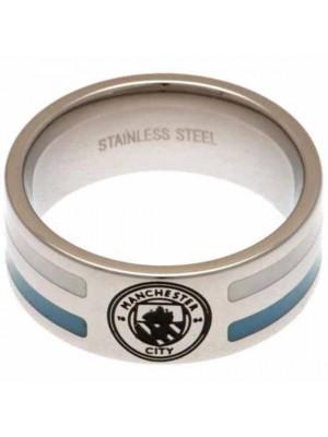 Manchester City FC Colour Stripe Ring Medium