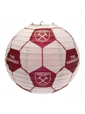 West Ham United FC Paper Light Shade