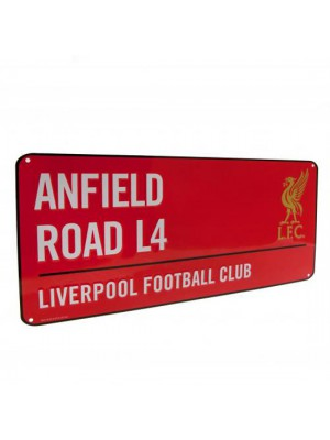 Liverpool FC Street Sign RD