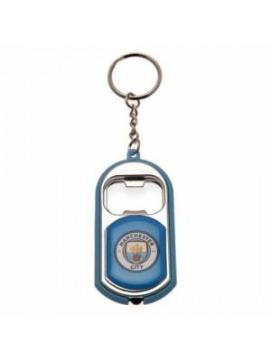 Manchester City FC Key Ring Torch Bottle Opener