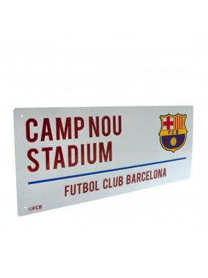 FC Barcelona Street Sign