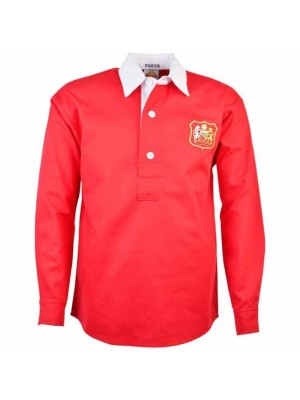 Manchester United 1940s-1950s Retro Football Shirt