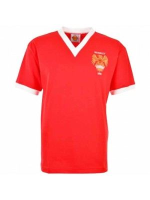 Manchester United 1958 FA Cup Final Retro Football Shirt